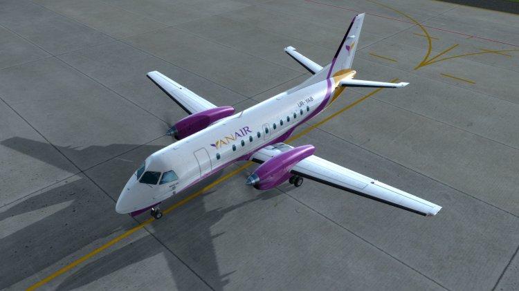 Carenado Saab 340 YanAir Airlines - P3D liveries and