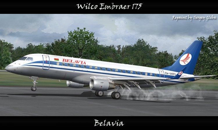 Files - Wilco Embraer 175 - Belavia - Avsim su