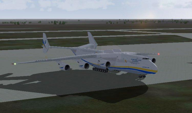 AI An-225 Mriya new livery - FS2004 AI Traffic Aircrafts - Avsim su