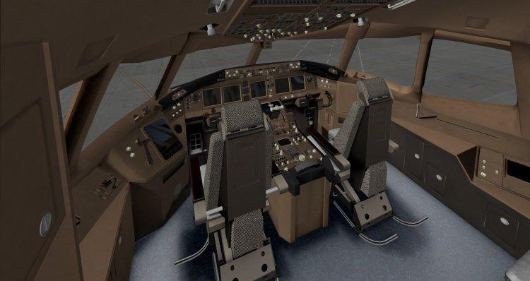 Ретекстуринг кабины Boeing 777-200LR от Ramzzess & philipp