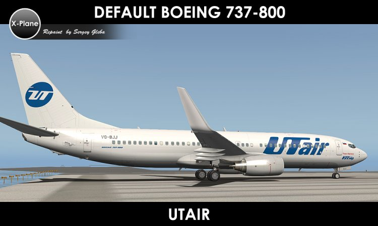 X-Plane Liveries and Textures - Files - Default Boeing 737-800 - s7