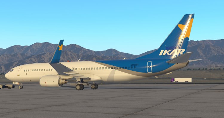 Default Boeing 737-800 X-Plane 11 - Pegas Fly VQ-BVY - X