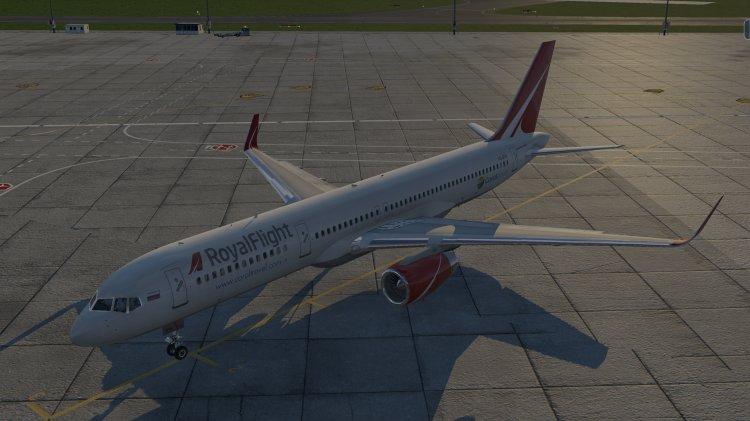 X-Plane Liveries and Textures - Files - B 737-500 ORENAIR