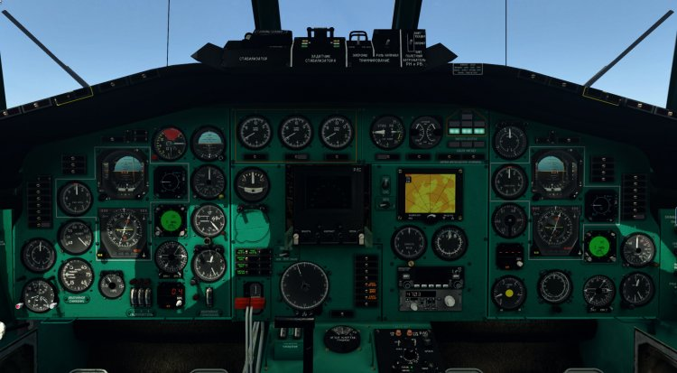 X-Plane Liveries and Textures - Files - Tu-154M Cabin