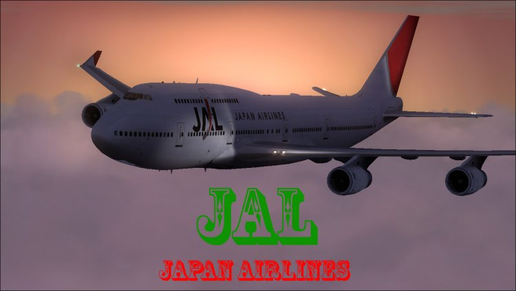 Files - Livery JAL (Japan Airlines) for the PMDG 747-400
