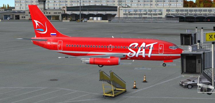 737-200 Tinmouse (SAT Сахалинские авиатрассы) - FSX Aircraft