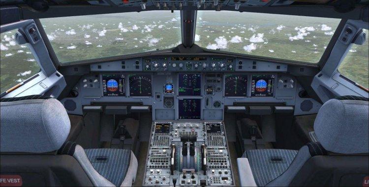 Files - Virtual cockpit textures modification for Aerosoft Airbus
