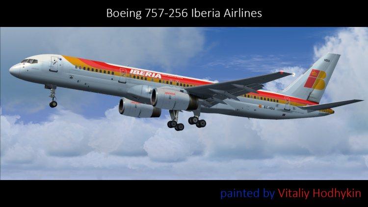 QualityWings 757-200 Iberia Airlines HD v2 0 - FSX Aircraft Liveries