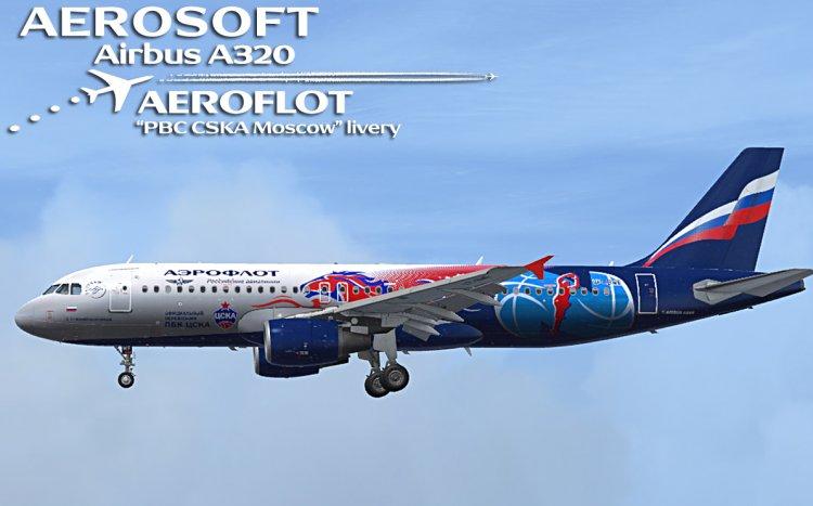 Files - Aeroflot A320 AirbusX Aerosoft (VP-BQU) - Avsim su