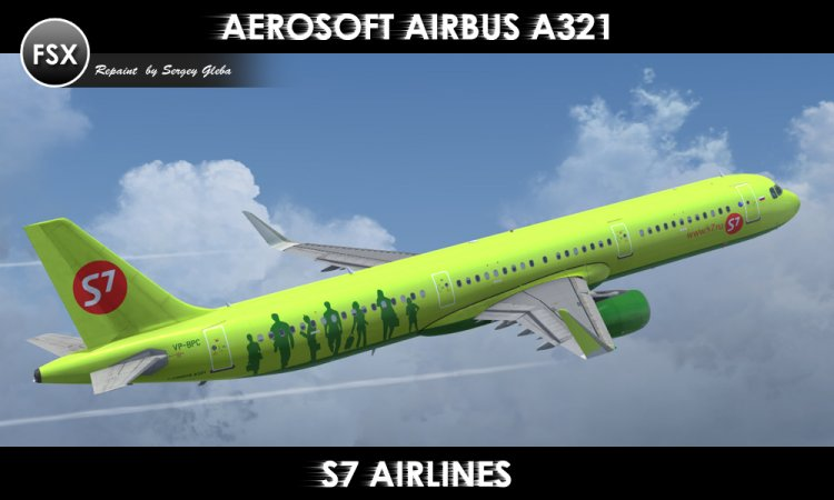 FSX Aircraft Liveries and Textures - Files - Aerosoft Airbus A321