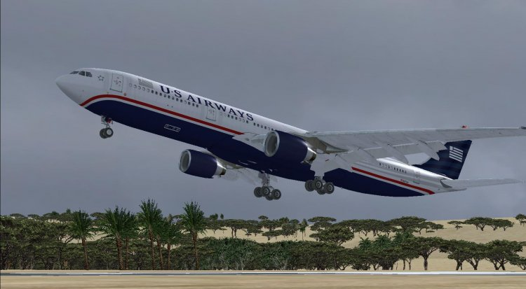 Airbus A330-300 with 24 airline liveries  - FSX Aircrafts