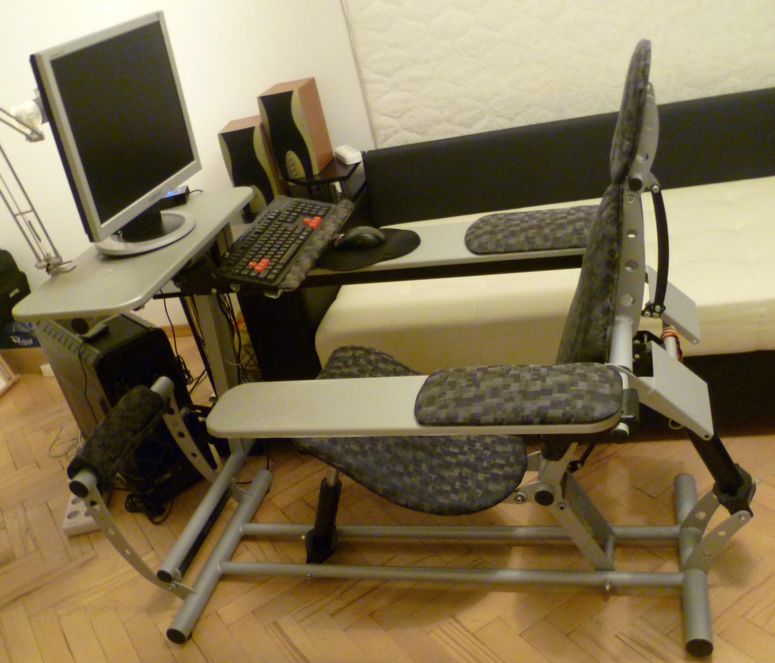 Как сделать кресло своими руками для компьютера 83