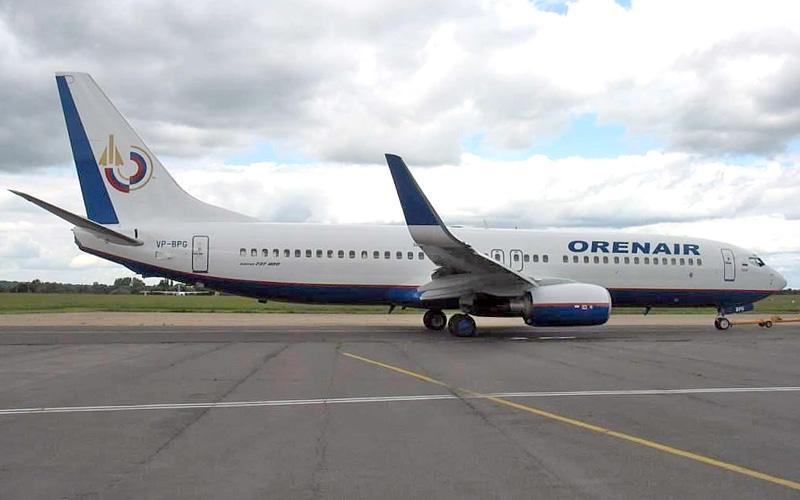 В парке авиакомпании ORENAIR появился еще один  Boeing 737-800