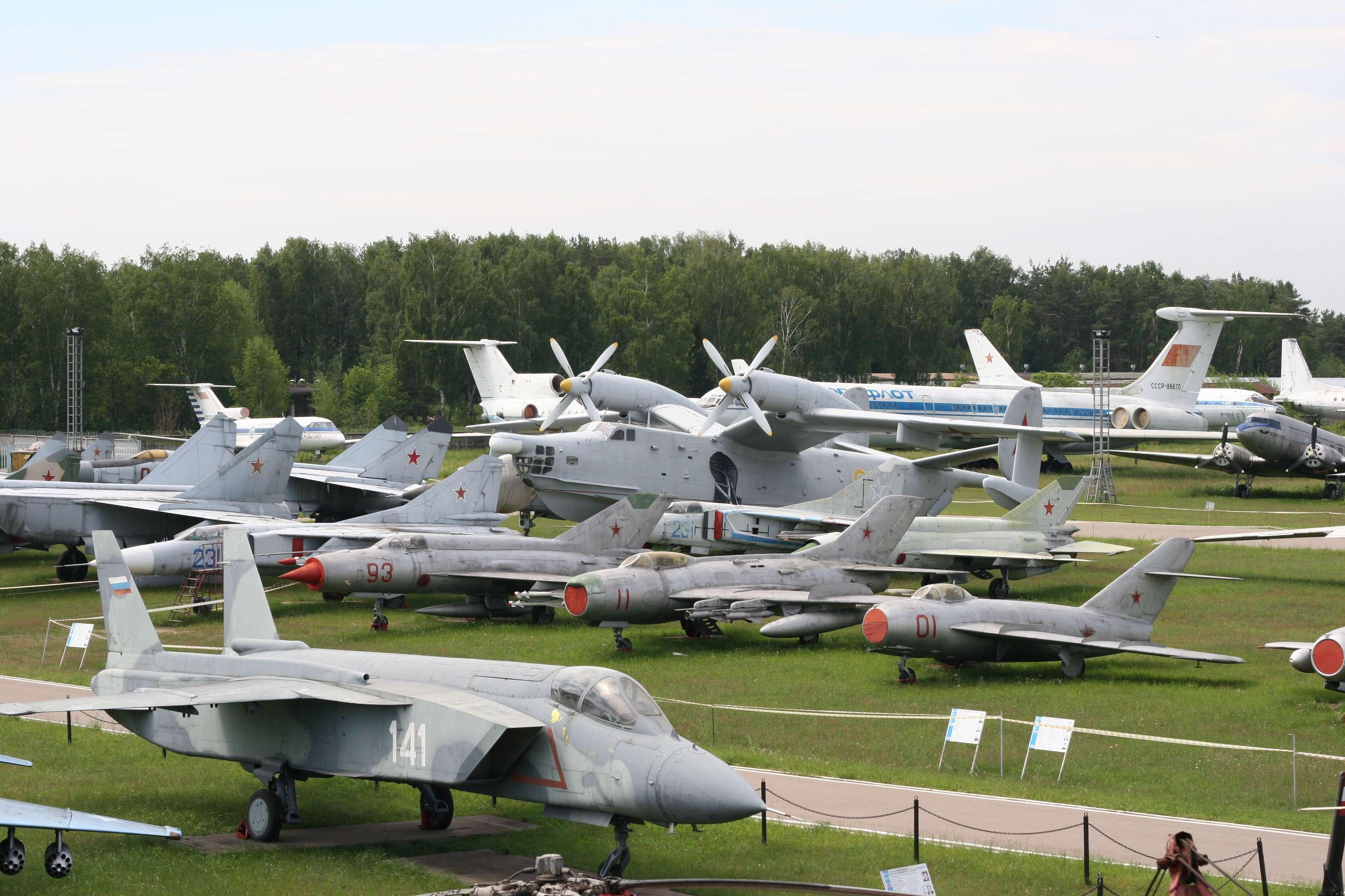 Фото самолетов музея монино 5