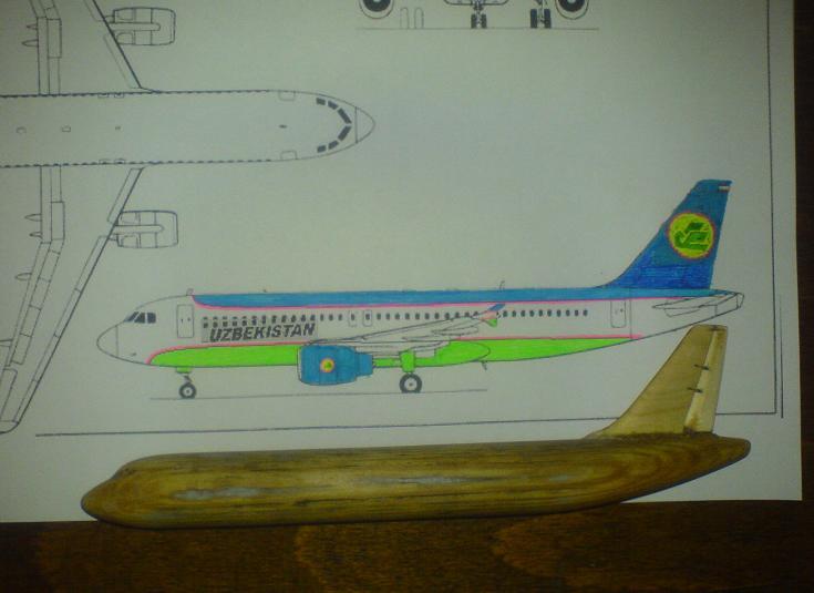 Самолет из дерева сделать