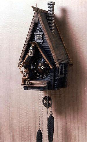 Как сделать деревянные часы с кукушкой
