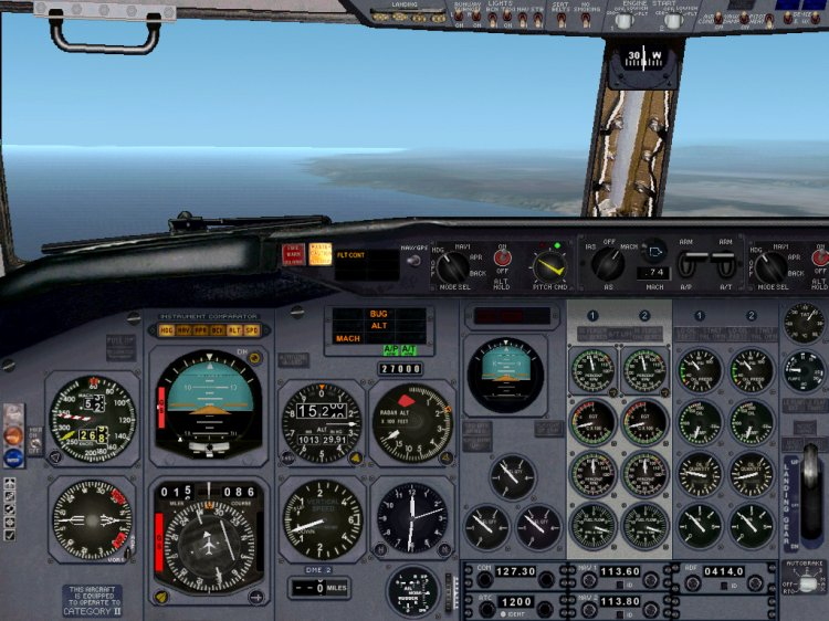 FS2002 Aircraft Panels - Files - The panel Boeing 737-200 v