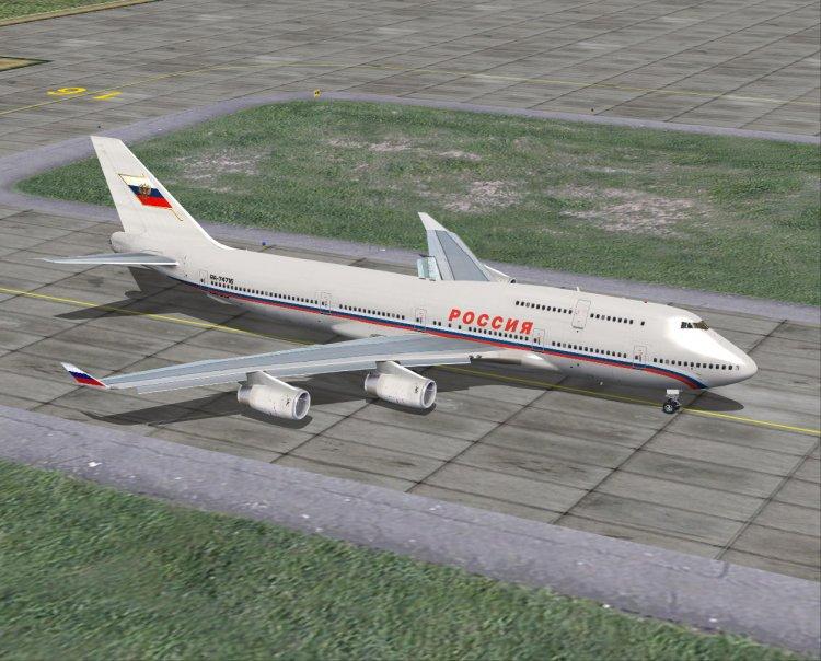 Files - Being 747-400 Transaero Landing in Oahu - Avsim su