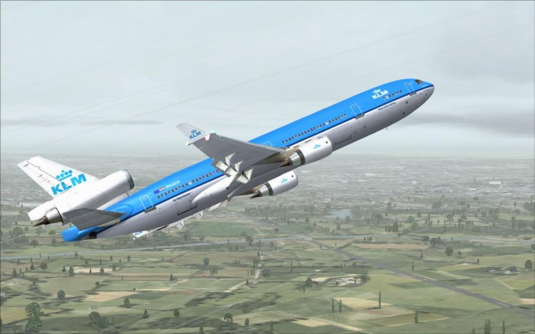 PMDG MD-11 KLM - FS2004 Aircraft Liveries and Textures