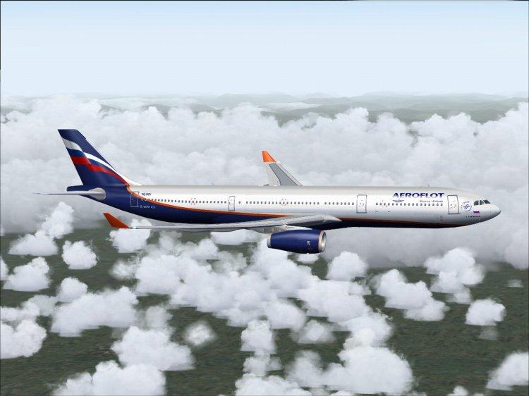 Files - Airbus A330-200 Aeroflot - Avsim su