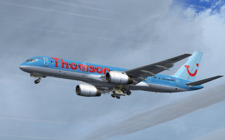QW Boeing 757-200 - Thomson Airways - FS2004 Aircraft Liveries and
