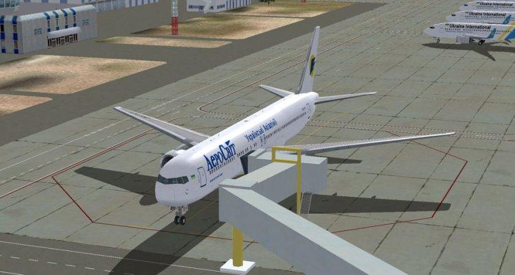 Files - Transaero Boeing 767-216/ER EI-CXZ - Avsim su