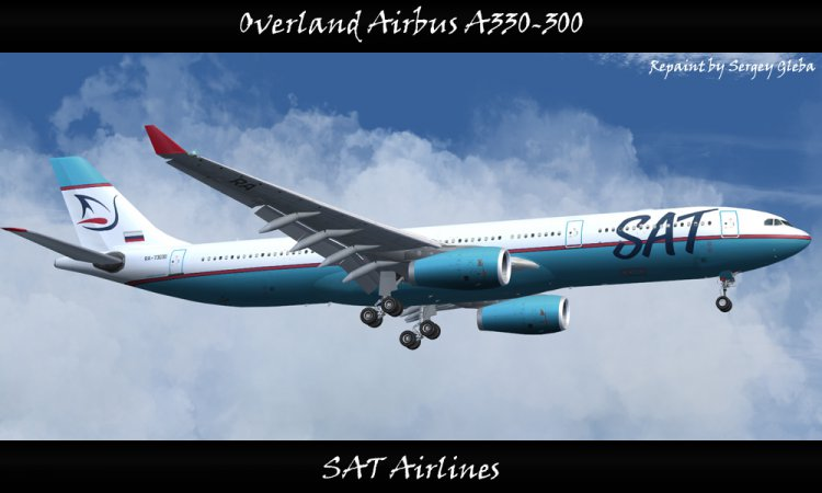 FS2004 Aircraft Liveries and Textures - Files - Overland