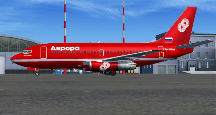 TinMouse II Boeing 737-200 Aurora - FS2004 Aircraft Liveries