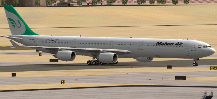 Overland Airbus A340-600, Mahan Air - FS2004 Aircraft Liveries and
