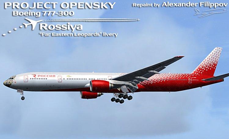 Files - PMDG Boeing 777-300ERX - Rossiya Airlines - Avsim su