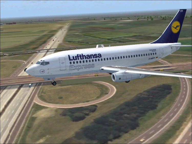 Boeing 737-200 from Tin Mouse  The most complete assembly  - FS2004