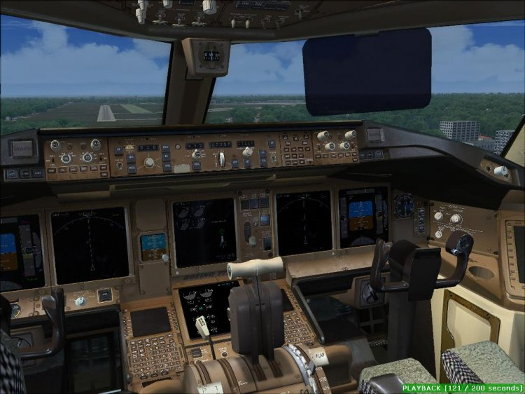 PROJECT OPENSKY BOEING 777-300 v2 for FS2004/FSX - FS2004 Aircrafts
