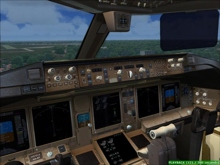 PROJECT OPENSKY BOEING 777-300 v2 for FS2004/FSX - FS2004