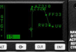Converter sid/star for the PT KLN90B - FS2004 Gauges - Avsim su
