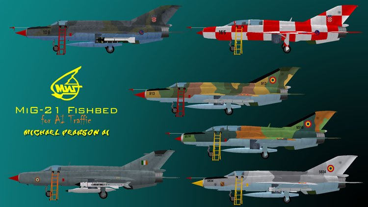 Files - MiG-21 F-13 Cuban Revolutionary Air Force - Avsim su