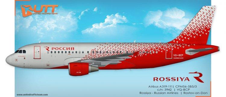 Files - UTT AI Airbus A319 (FAIB) Rossiya Airlines NC VQ-BCO,VQ-BCP