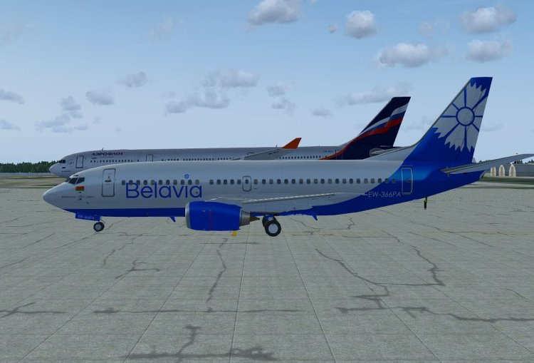 FAIB Boeing 737-300 Belavia - FS2004 AI Traffic Aircrafts