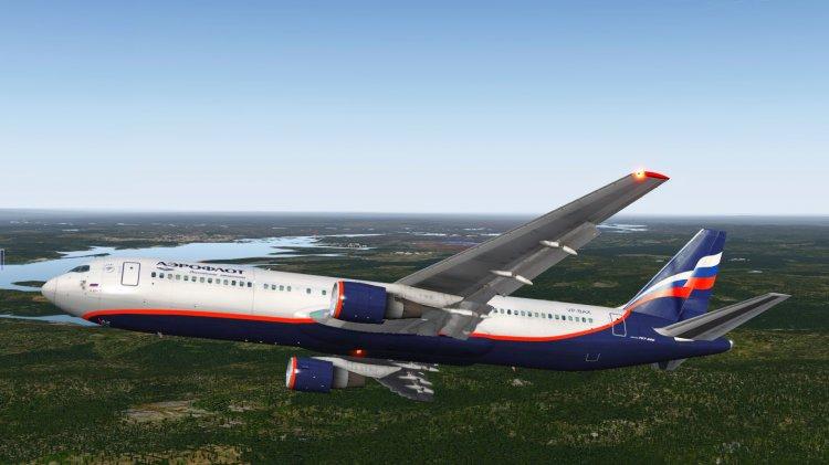 FF 767-300 Aeroflot VP-BAX - X-Plane Liveries and Textures - Avsim su