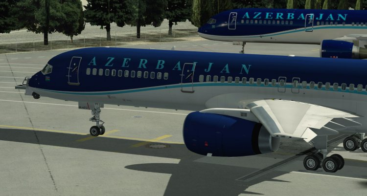 AZAL for Boeing 757-200 v2 Flight Factor - X-Plane Liveries and