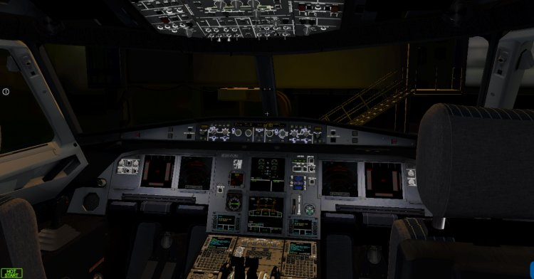 Files - The texture of the cockpit for Jardesign a320 v2 - Avsim su