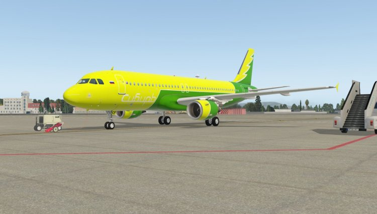 X-Plane Liveries and Textures - Files - RED WINGS A320 ver 2 0