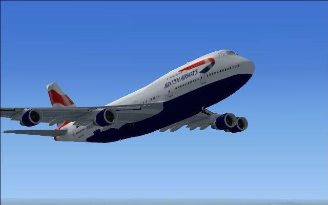 Boeing 747-400 British airways livery - FSX Aircraft