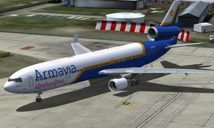 PMDG MD-11 Armavia - FSX Aircraft Liveries and Textures