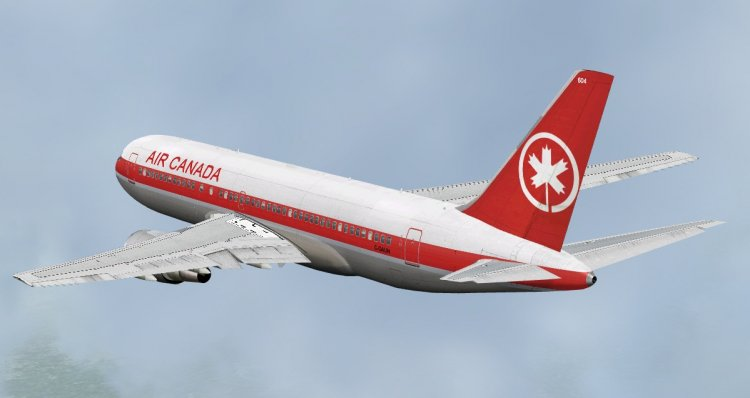 CLS Boeing 767-200 Air Canada