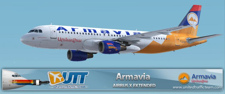 Airbus X Extended A320 Armavia EK32008 - FSX Aircraft Liveries and