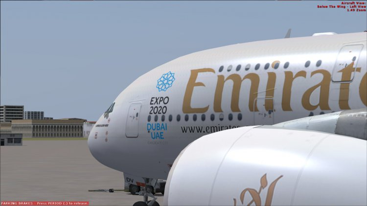 Emirates A380-800 EXPO 2020 Dubai - FSX Aircraft Liveries
