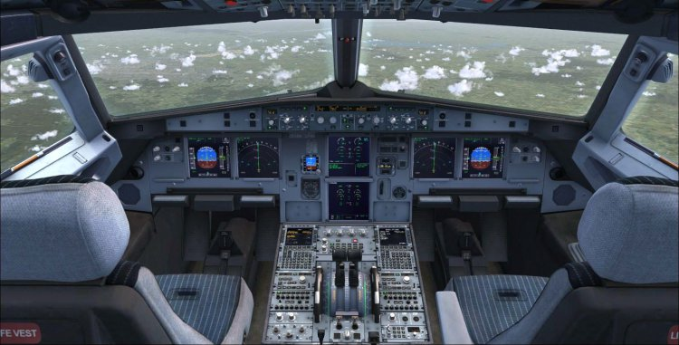 Files - Virtual cockpit textures mod for PMDG MD-11X by Frost ver