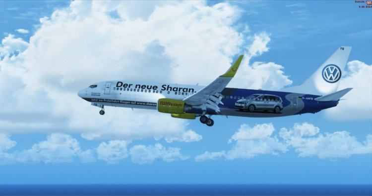 PMDG 737-800 WL TUIfly - FSX Aircraft Liveries and Textures