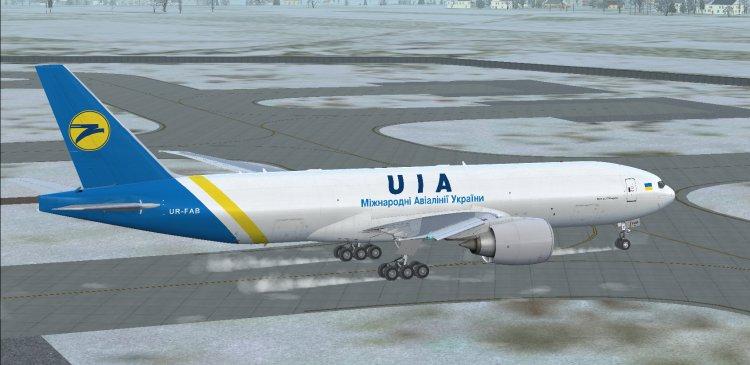 Files - PMDG Boeing 777-300ER Ukraine International Airlines