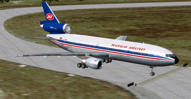 Files - DC 10-30 Air Serbia (вымышленный борт) - Avsim su